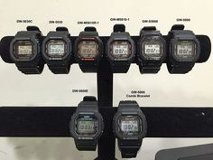 Casio G-Shock Square - Small Collection