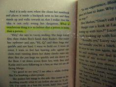 """""""What a treacherous thing it is to believe that a person is more than a person."""" - John Green, Paper Towns"""