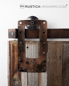 Rustic Hardware And Accessories On Pinterest Barn Door Hardware Barn Doors And Doors