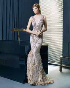 ¡Elegancia y glamour!, descubre la colección de invitada de Rosa Clará 2015 Image: 39
