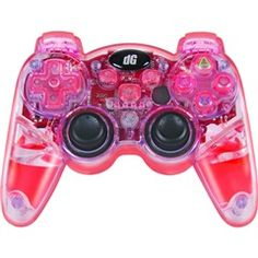Lava Glow Wireless Controller for #PS3® & PS3 Slim® - #Red  #Dreamgear DGPS3-3831  PRICE DROP!