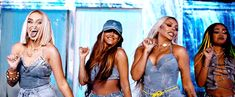 Animated gif about gif in Little Mix ˎˊ˗ by ゚✧ 𝑨̶𝒑̶𝒓̶𝒊̶𝒍̶ ✧ ゚ Little Mix Outfits, Little Mix Style, Cute Outfits, Jesy Nelson, Perrie Edwards, Anastasia Karanikolaou, Lgbtq Flags, Litte Mix, Aesthetic People