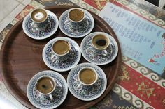 Turkish Coffee house and delicious Turkish Coffee