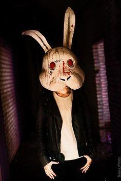 Cosplay Doubt  Cosplay  doubt  rabbit  blood  manga  mask  photo da2fcba03
