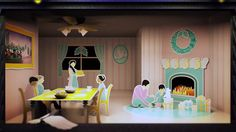 Cinema 4D - Animated Holiday Card Breakdown Tutorial 5