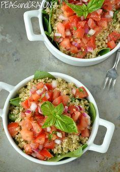 Bruschetta Quinoa www.PersonalTrainerBradenton.com