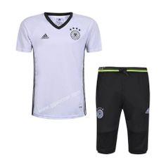 2016-17 Germany white short-sleeved sweater uniform