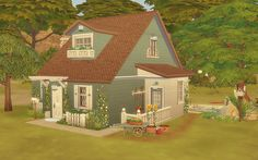 Via Sims: House 21 - The Sims 4