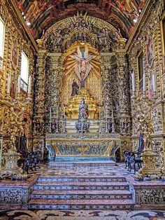 Igreja de Sao Francisco da Penitência - Convento de Santo Antônio - Centro da Cidade - Rio de Janeiro - Brasil