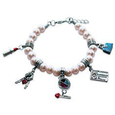 Teen Girl Charm Bracelet in Silver