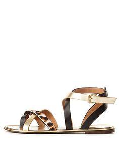 REPORT SIGNATURE STRAPPY COLOR BLOCK SANDALS #sandals #strappy #CRshoecloset