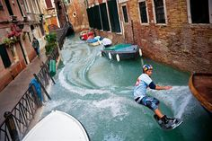 Wakeboarding at Venice by Mark III, via 500px