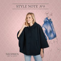 BUGATTI STYLE NOTE | Clean Chic! #Neopren is the winning material this season! Soft, absolutely lightweight, flexible und breathable – You get the full wearing comfort experience! #bugattifashion #SS16 #womenswear #darkblue
