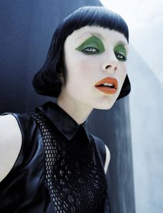 photo shoot | Edie Campbell by Tim Walker fore Vogue Italia December 2015