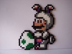 Easter Mario hama perler beads by Les-anges-geek