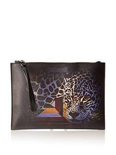 JUST CAVALLI Just Cavalli Women'S Printed Eco Saffiano W/ Leopard. #justcavalli #bags # #