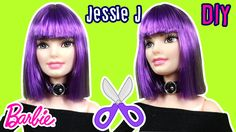 Jessie J Hair Tutorial for Barbie Doll - DIY - Barbie Haircut - Making K...