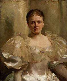 "William Shakespeare"", nee Louise Weiland, Portrait painted during America's Gilded Age - (oil on canvas, American portrait artist: John Singer Sargent. ~ {cwlyons} ~ (Image: Memorial Art Gallery - University of Rochester) Figure Painting, Painting & Drawing, Memorial Art Gallery, Sargent Art, Guache, William Shakespeare, American Artists, Art History, Paris"