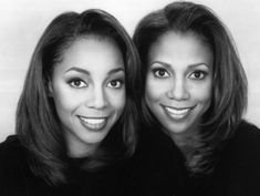 Holly Robinson Peete, actress and Terry Lynn Ellis singer with Envogue