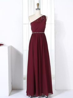 Burgundy Long Brides