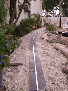 Road to encourage imagination play with toy cars, trucks etc...at Robina Scott Kindergarten ≈≈