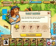 The Island - UI Video Games