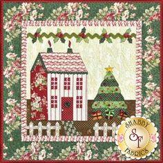 Little Garden House in Winter Pattern: Little Garden House in Winter is a sweet 41
