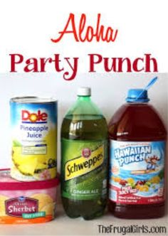 ... drinks on Pinterest | Party punches, Punch recipes and Pineapple juice