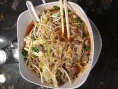 Okay - not Korean, but Thai. Pho is really good! Uses light ingredients that pack a punch of flavor. A favorite Asian dish!