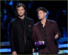 Jensen Ackles and Jared Padalecki | Celeb Diary: Jared Padalecki & Jensen Ackles @ 2013 People's Choice ...