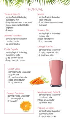 #Tropical #Strawberry #Shakeology #Recipes | For more info, click here: http://hopediana.tumblr.com/post/74834699437/tropical-strawberry-shakeology-recipes-for-more