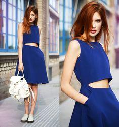 Front Row Shop Dress, Grafea Backpack, Dr. Martens Shoes