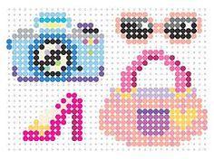 Resultado de imagen para patrones hama beads