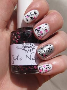 Girl's Night - Custom Blended and Made Nail Polish - Limited Edition - Only 3 left! $8.50!