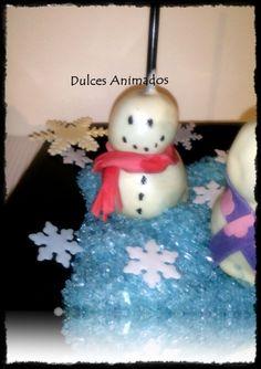 Cake Pops Muñecos de Nieve