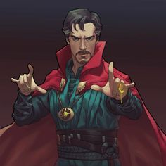 Doctor Strange Rune GIF by Bryan Valenza