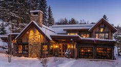 5 Luxury Mountain & Log Homes That Will Blow Your Mind! #1