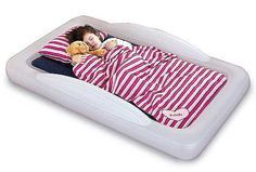 The inflatable toddler bed that just might get us all a better night's sleep | Cool Mom Picks