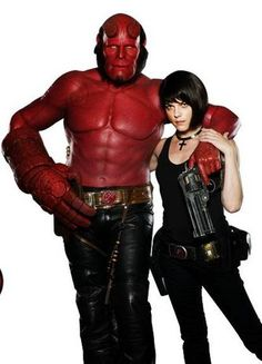 ron perlman and selma blair hellboy
