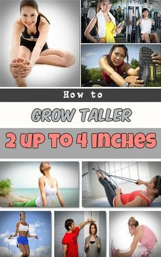 How to grow taller 2 up to 4 inches - I need this for my vertically challenged self! ;-)