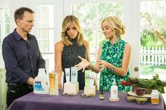 Sophie Uliano is showing you some all-natural remedies to common skin issues.