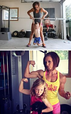 Inspiration! 35 fit moms. *to look at whenever I get discouraged!