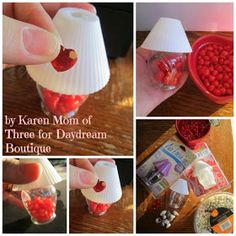 Dream. Dress. Play.: Make It Monday~ Make A Valentine's Day Themed Lamp For Your Dolls!