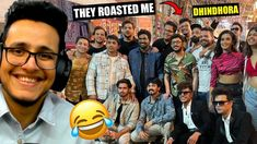 Getting Roasted by India's Biggest Youtubers at Dhindora Shoot - YouTube