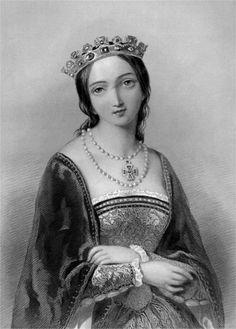 Королева Мария I (1516-1558), рис. А.Бувье