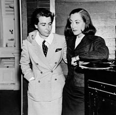Joan Crawford and Dorothy Arzner