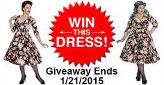 Win This Gorgeous Black Dahlia Dress!