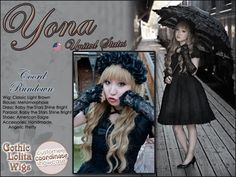 Kuro Lolita. This is a style I want to try one day