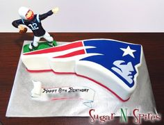 And Brady is set to pass!!! Don't you love the cake???