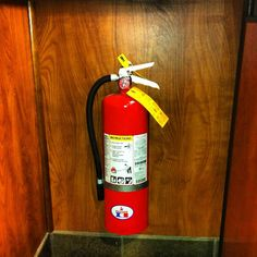 No more extinguisher checks - Raphael Love Social Media Mentor and Speaker Broken Glass, Fire Extinguisher, Safety, Shots, Social Media, Security Guard, Social Networks, Social Media Tips